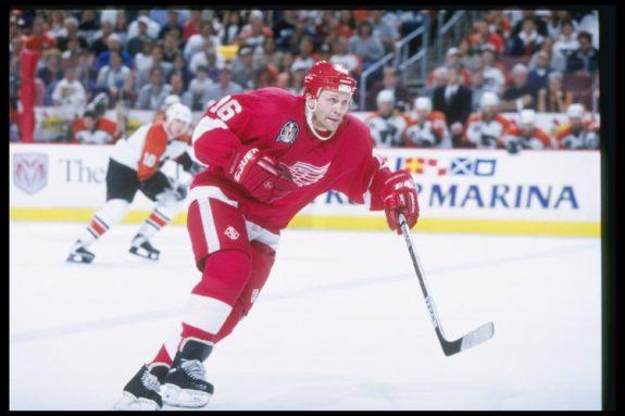 Vladimir Konstantinov Detroit Red Wings
