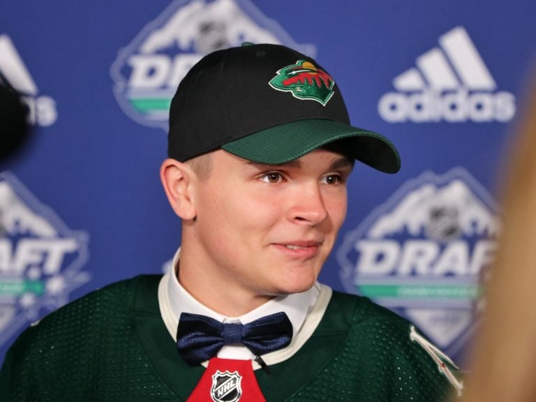 Vladislav Firstov Minnesota Wild Draft
