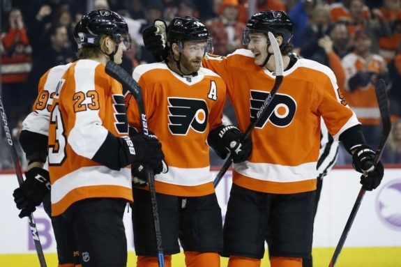 Sean Couturier Oskar Lindblom Philippe Myers