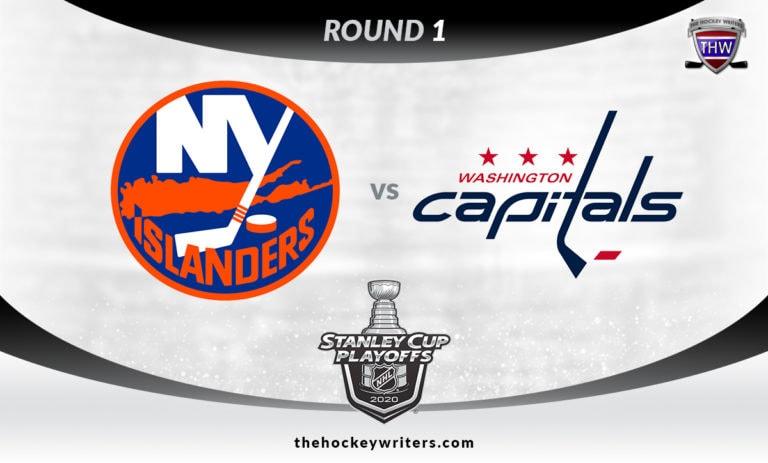 2020 Stanley Cup Playoffs Round 1 New York Islanders vs Washington Capitals