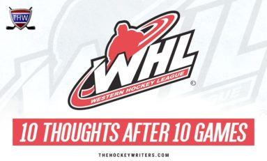 WHL Update: 10 Thoughts Through 10 Games