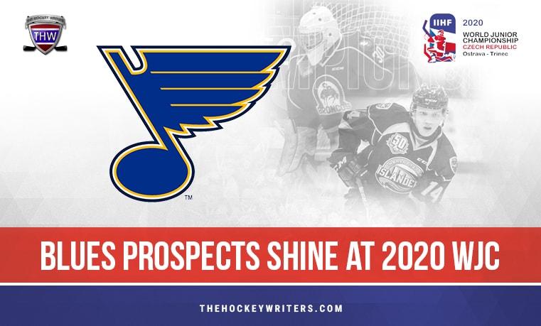 Blues Prospects Shine at 2020 WJC