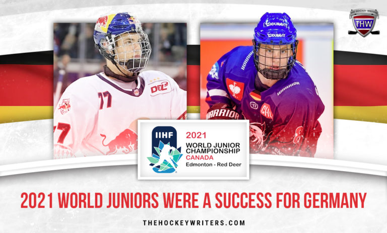 Peterka and Stutzle 2021 World Juniors Were a Success for Germany