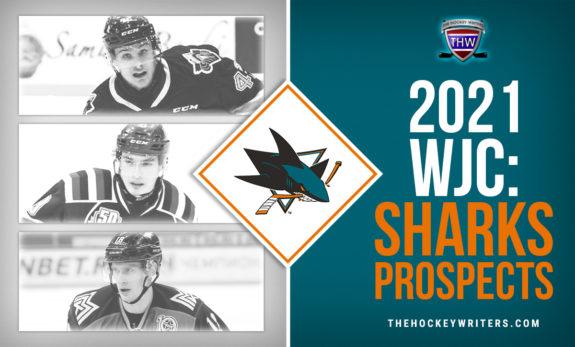 2021 WJC: San Jose Sharks Prospects Adam Raska, Artemi kniazev and Yegor Spiridonov