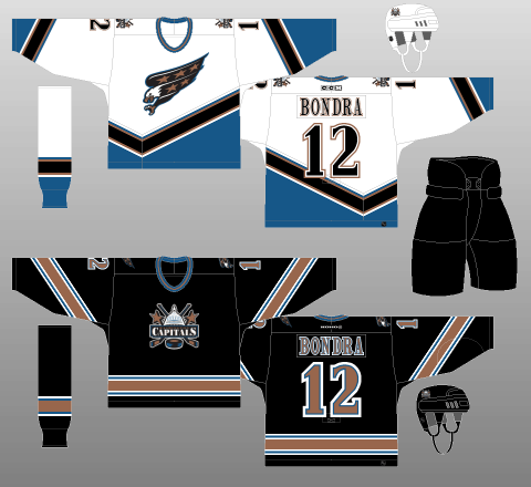 Washington Capitals 2000-07 Jerseys