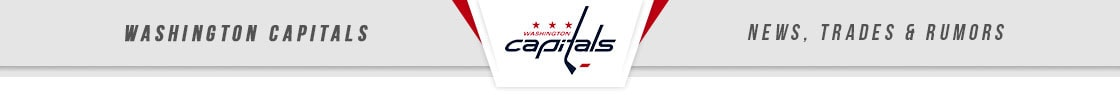 Washington Capitals News, Trades & Rumors