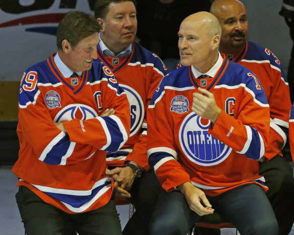 Mark Messier & Wayne Gretzky