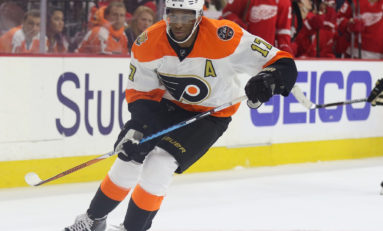 Recap: Simmonds Goal Lifts Flyers Over Sharks
