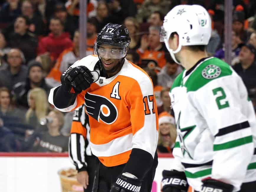 eaaee7dd2 Philadelphia Flyers  Analyzing Wayne Simmonds  Value