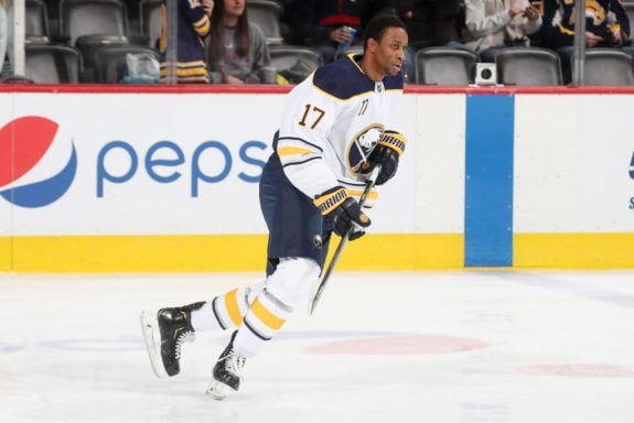 Wayne Simmonds Buffalo Sabres