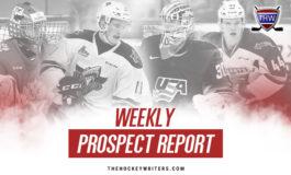 Weekly Prospect Report: Fagemo, Kravtsov, Stützle & More
