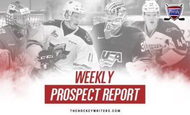 Weekly Prospect Report: Francis, Caufield, NHL Draft, Chromiak & More