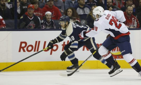 Blue Jackets Blank Capitals - Bobrovsky Earns Shutout