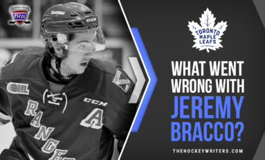 What Went Wrong With Maple Leafs' Jeremy Bracco?