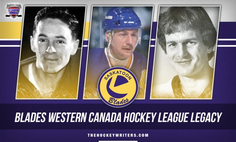 Bernie Federko, Bob Bourne, Dave Lewis, and Jack McLeod Saskatoon Blades Western Canadian Hockey League Legacy