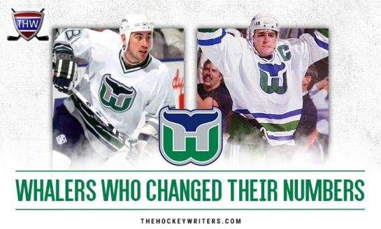 7 Hartford Whalers Who Changed Their Numbers
