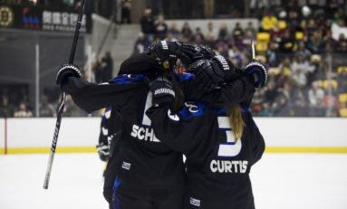 Whitecaps Win Isobel Cup in OT Thriller