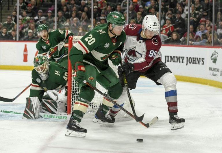 Colorado Avalanche Mikko Rantanen Minnesota Wild Ryan Suter