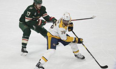 Predators Beat Wild - Johansen With Shootout Winner