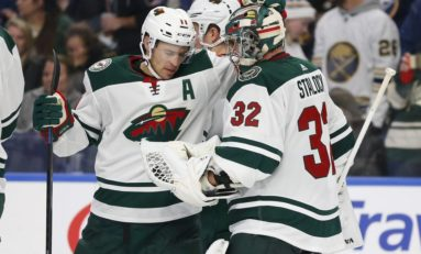 THW's Goalie News: Lehner's Debut, Wild Shutout & More