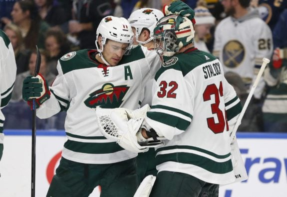 Minnesota Wild Zach Parise Alex Stalock