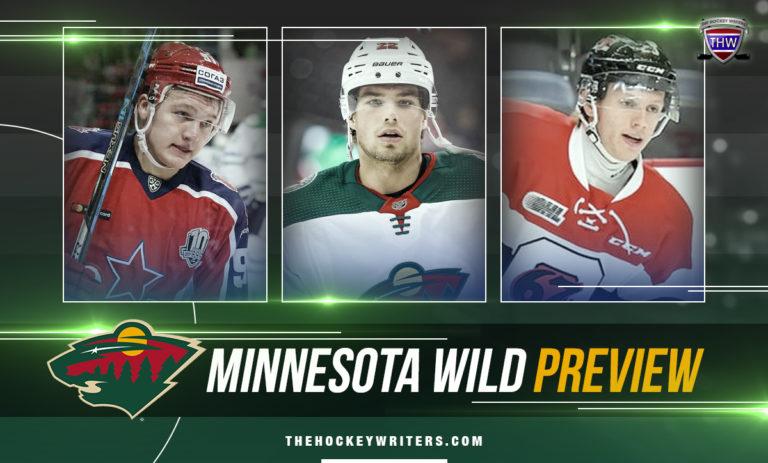 Minnesota Wild series preview Kevin Fiala, Kirill Kaprizov and Marco Rossi