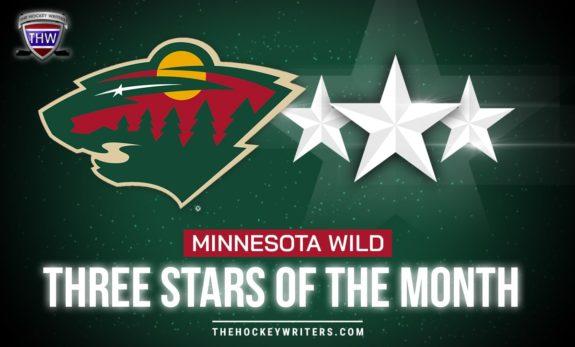 Minnesota Wild Three Stars of the Month