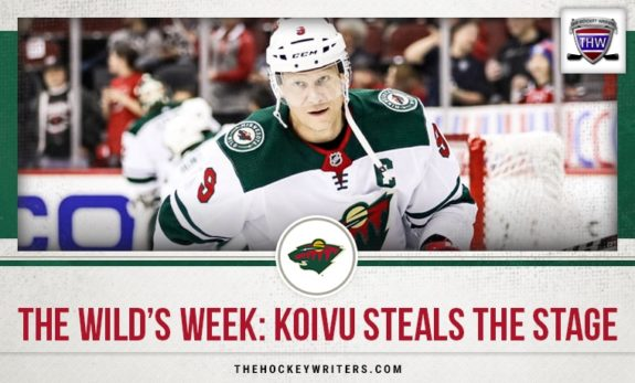 Minnesota Wild The Wild's Week: Mikko Koivu Steals the Stage