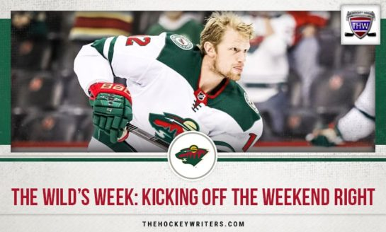 The Wild's Week: Kicking off the Weekend Right