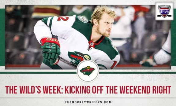 The Wild's Week: Kicking Off the Weekend Right Eric Staal