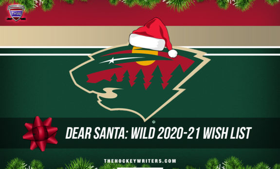 Dear Santa' Minnesota Wild Wish List for the 2020-21 Season