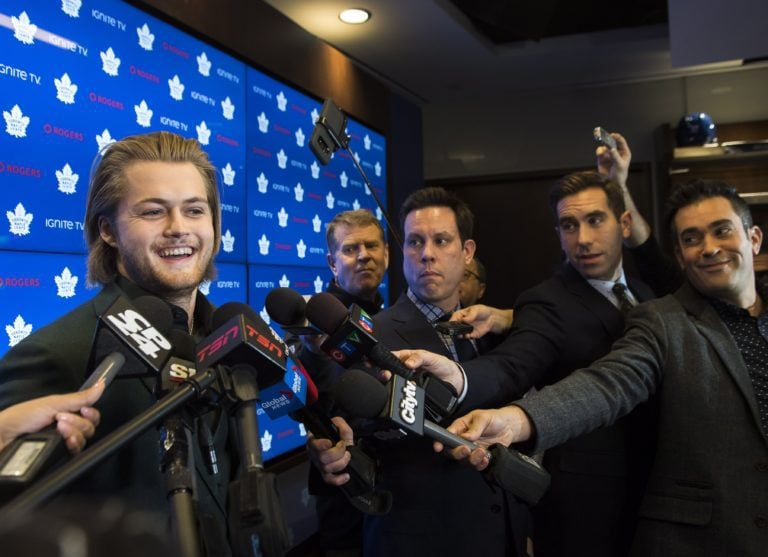 Toronto Maple Leafs forward William Nylander