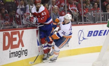Capitals Throw Punches But Can't Absorb Them In Loss To Islanders