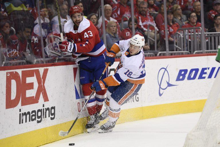New York Islanders Anthony Beauvillier Washington Capitals Tom Wilson