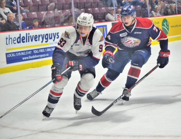 Windsor Spitfires Jean-Luc Foudy