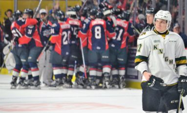 Knights Facing Elimination in OHL Playoffs