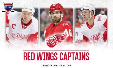 The Grind Line: Red Wings' 2019-20 Captains