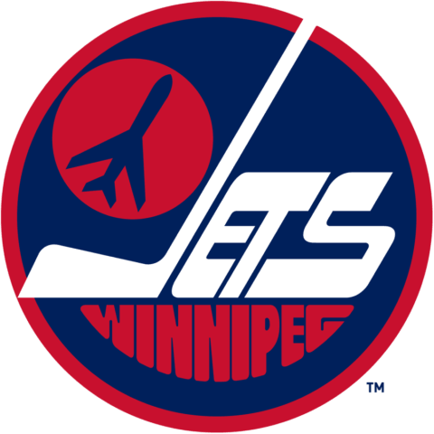 Winnipeg Jets 1973-90 Primary Logo (WHA and NHL)