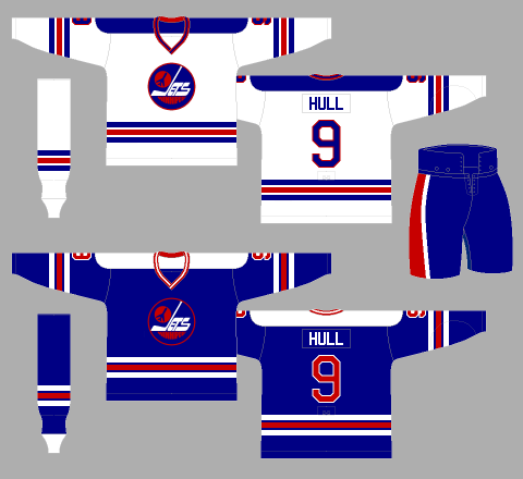 Winnipeg Jets 1978-79 Jerseys