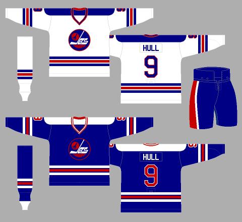 Winnipeg Jets 1978-79 Jerseys