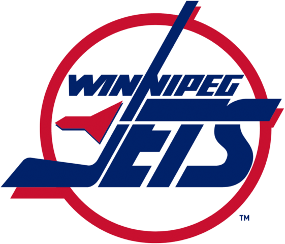 Winnipeg Jets 1990-96 Primary Logo