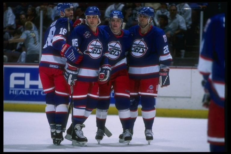 Winnipeg Jets final regular season 1996