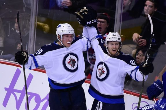 Winnipeg Jets Patrik Laine Kyle Connor