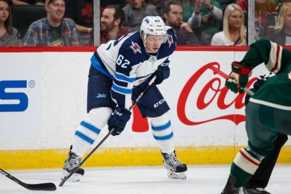 Winnipeg Jets Nelson Nogier