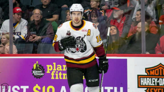 Curtis McKenzie, Chicago Wolves