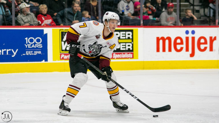 Daniel Carr, Chicago Wolves