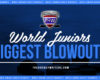 World Junior Championships All-Time Biggest Blowouts