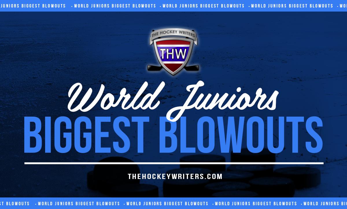 World Juniors Biggest Blowouts