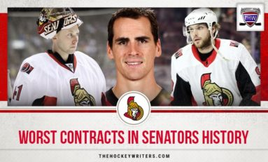 Senators' 3 Worst Contracts Ever