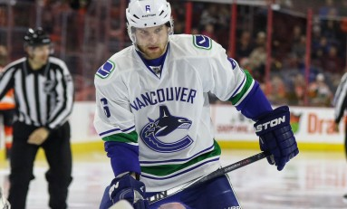 Slumping Canucks Waived Another Veteran